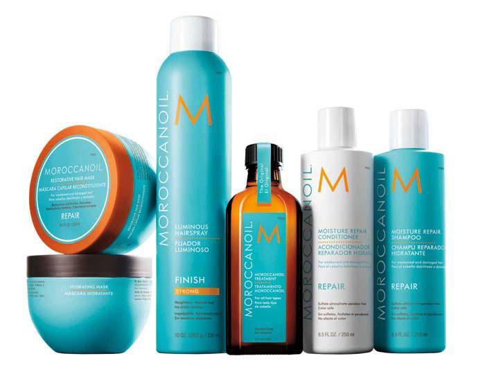 Moroccanoil product range